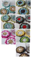 Crochet Coasters by meekssandygirl