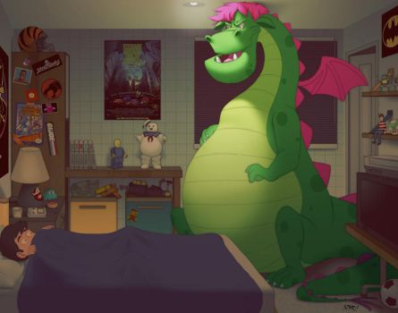 Pete's Dragon WTF by pacman23