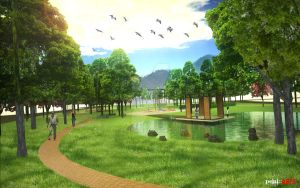 Permatang Sanctuary Park by pejai