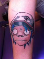 2D tattooooo by AttackReanimate