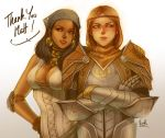 Isabela and Aveline by virak