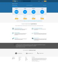 Thryv Trainer Account Pricing Page by squizzi