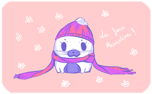 The seal Marcelina by Natsuba