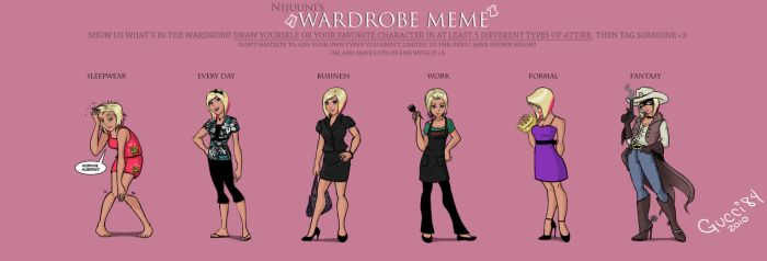 Wardrobe Meme by gucci84