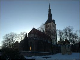 niguliste church by MouseClock
