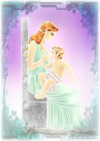 Nerdanel and Maedhros-Happy Mothers Day by EPH-SAN1634