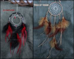 Runamoine and Tale of Tales Dreamcatchers by Fladius