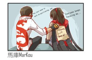 The encouragement of his teammates 2 by markou000