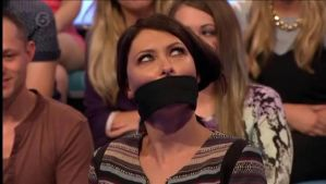 Emma Willis gagged by bman4