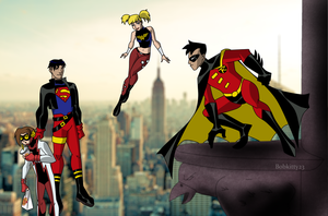 DCAU: Just Us by Bobkitty23