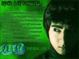 Rock Lee Real ID by RockLeeFangirl