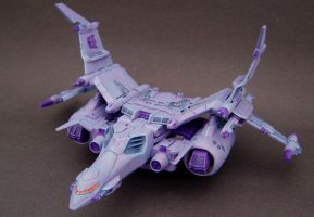 Custom Cyclonus jet mode 2 by Jin-Saotome