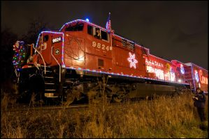 Holiday Train. by MrScourge