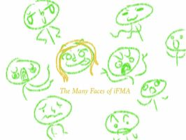 THE MANY FACES OF ME by iFMAtey