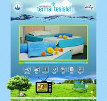 thermal resort web site by OnRckn