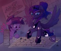 strategy doodle by MagnaLuna