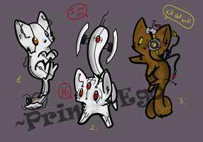 Portal Kittens Adoptables [CLOSED] by Prince-Ego
