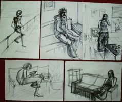 Few Sketches by pagone