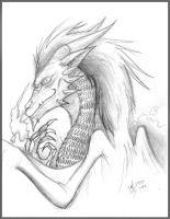 Good Dragon by Steff-Magalhes