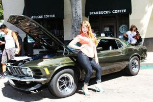 Car Show Gal by pixi996