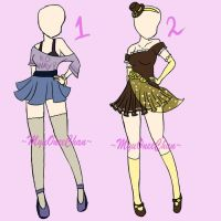 Outfit Adopts Closed by MyuOneeChan