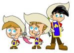 Musketeers Nicktoons by dannyfangirl