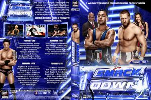 WWE SmackDown February 2012 DVD Cover by Chirantha