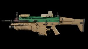 SCAR-H FULL EQUIPPED by punkandroll