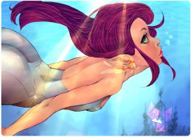 the little mermaid by Mellvine