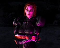 Leliana render in Fallout New Vegas by lsquall
