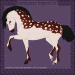 1017 Group Horse Import by Cloudrunner64