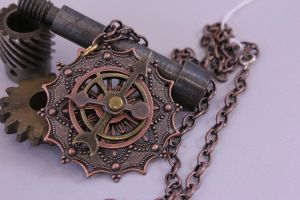 The Steampunk Piece by ChainmailBadger
