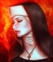 Blood of Christ by Mai-Ja