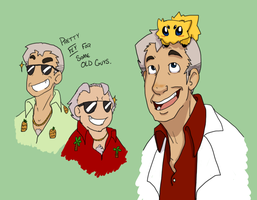 Professor Oak doodles by ProfessorOakcane