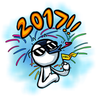 Happy new year 2017! by DevianJp824