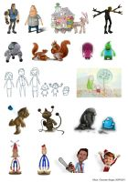 Characters by Yohan-2014