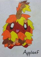 Fakemon: Appleaf by Brawl483