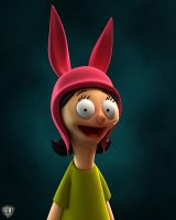 Louise Belcher, Bob's Burgers by vikung-fu