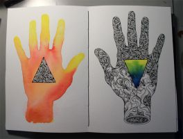 Handprints by pilife