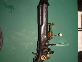 steampunk gun by Dreamkeeperfae