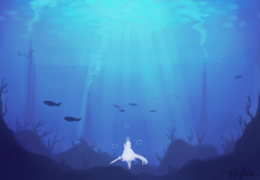 Towering Waters by Hanariku-chan