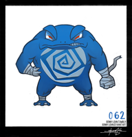 Poliwrath!  Pokemon One a Day! by BonnyJohn