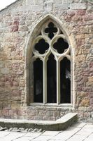 Medieval Stone Window by RaeyenIrael-Stock