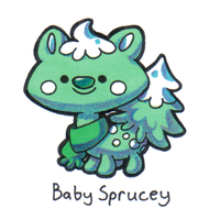 Baby Sprucey contest entry by Momogirl
