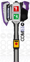 Kamen Rider Chaser - Signal-Ax by CometComics
