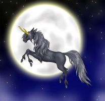 Taiki over the moon by Lizzy23