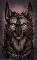 Khajiit headshot by Bluari