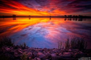 A Colorado Birthday Sunrise by kkart