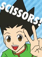 Gon - Scissors! by OniMaru-04