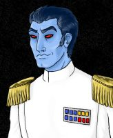 Grand Admiral Thrawn by DarkNo